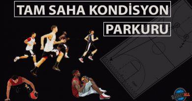 Basketbolda tam saha kondisyon parkuru