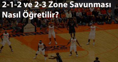 2-1-2 ve 2-3 Zone (Alan) Savunması Nasıl Öğretilir?